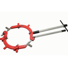 H22S虎王18-22寸防爆手动大割刀旋转式石油化工管道钢管切割机器