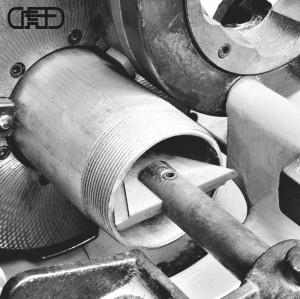 虎王SQ50B1电动切管套丝机1/2-2寸经典款建筑消防套丝机