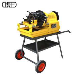 虎王SQ100D1电动切管套丝机1/2-4寸经典款建筑消防套丝机