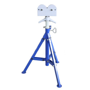 1109 Roller Head Pipe Stand for 12 Inch Pipes
