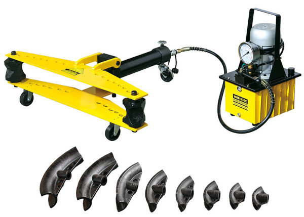 HHW-D Series Electric Hydraulic Pipe Benders with Wheels