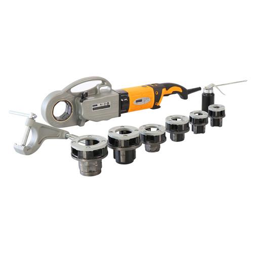 虎王SQ30-2C手持式电动套丝机1/2-2寸维修专用轻便款套丝机
