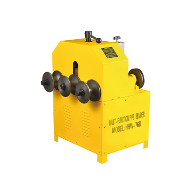 Hangzhou Hongli HHW-76B Multifunctional Pipe Bender for Round and Square Pipes Bending