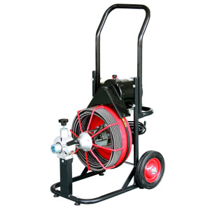 D330ZK Drum Drain Cleaning Machine for 1 1/4 to 4 Inch Sewer Pipes