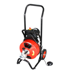 D360ZF Drum Type Electric Drain Cleaner