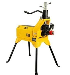 虎王YG12D-F电动液压滚槽机2-12寸衬塑钢管压槽机滚槽机