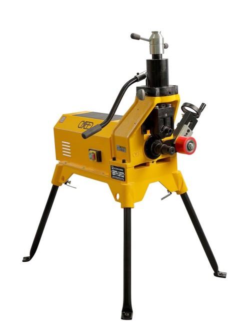 虎王GN12电动液压滚槽机2-12寸消防管道专用重型压槽机沟槽机