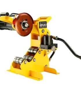 虎王QG8C-A电动液压切管机 2-8寸消防钢管冷切防爆割管机