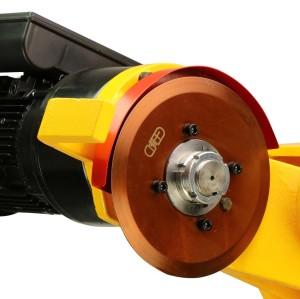 虎王QG12C电动切管机 2-12寸无火花防爆消防管道专用割管机