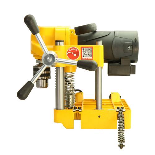 虎王JK150电动开孔机1/4-6寸消防管道专用开孔机便携式打孔工具