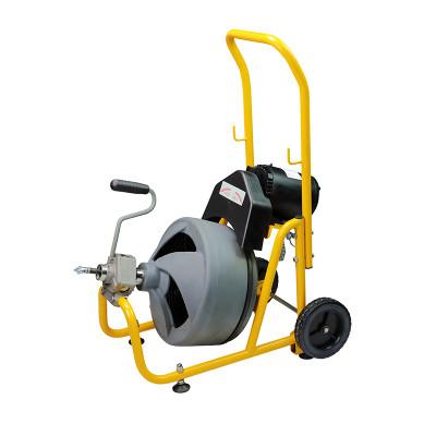 虎王AG100高效鼓式疏通机下水管道疏通神器家用堵塞清理工具