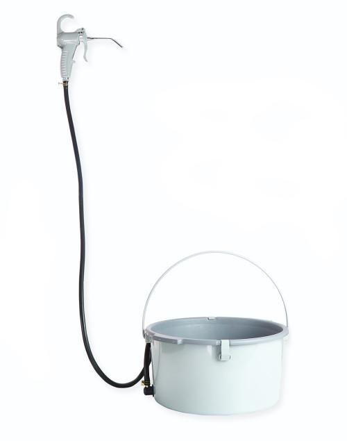 虎王厂家直销电动套丝机配件油枪油桶套装手动套丝机注油器盛屑盘