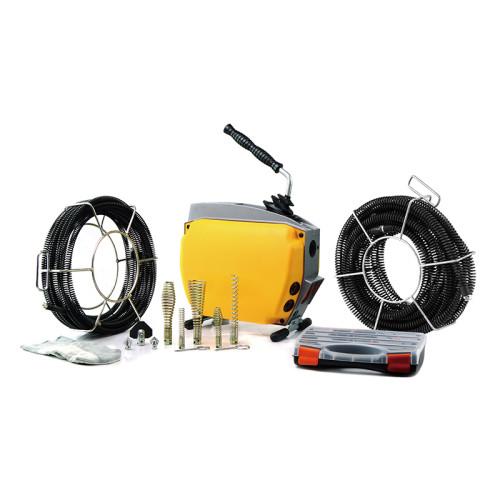 虎王A150G高效管道疏通机750W大功率电动疏通机市政专业下水管道专业清理机