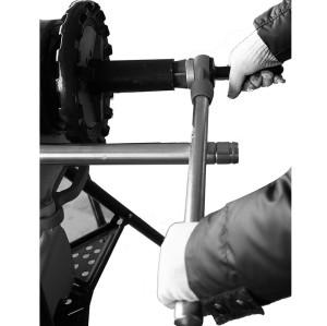 虎王牌供应商直销正品电动套丝机配件手动铰刀管子刮刀M2去毛刺