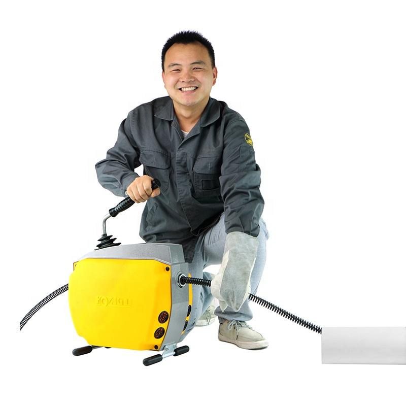 Máquinas de limpieza de tuberías