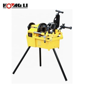 Hongli Sell More Efficiency Types of  Electric Pipe Threading Machines for Pipes up to 4 Inch