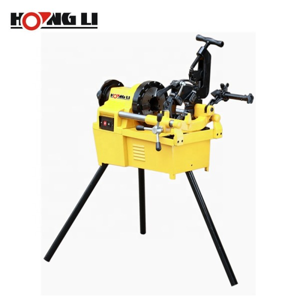 Factory Wholesale SQ100A Electric Metal Pipe Threading Machines for Pipes up to 4 Inch