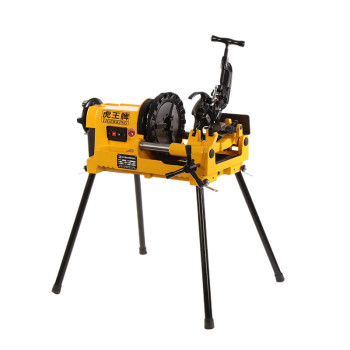 China Compact SQ50E Electric Pipe Threading Machine for Max 2 Inch Pipe Threading