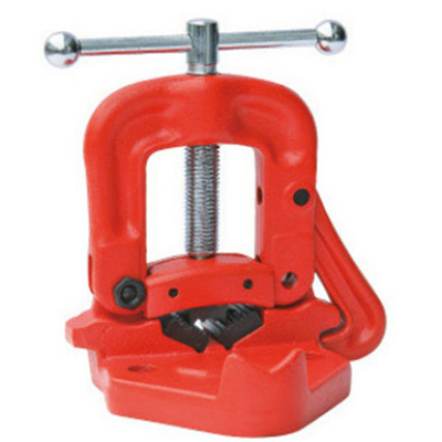 Bench Yoke Vise for Pipe Fixing from 1/8 Inch to 4