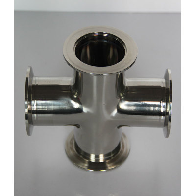Lary high quality good price stainless steel four way connections