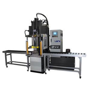 Rubber belt joint transfer molding machine