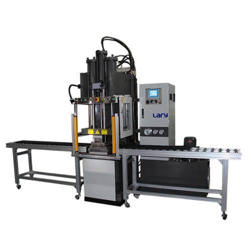 Rubber belt joint transfer molding machine