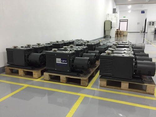 LVD40 two stage 12L/s direct drive oil rotary vane vacuum pump
