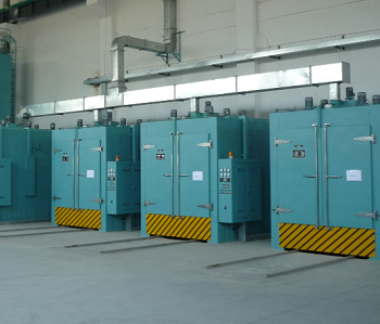 SLH series auto-driving Hot air circulation trolley type drying oven