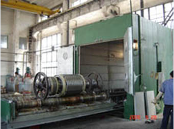 SLC series continuous powder metallurgy high temperature pusher sintering furnace