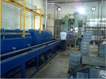 SLC series continuous powder metallurgy high temperature pusher sintering furnace