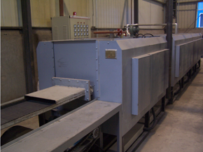 SLQ-B continuous mesh-belt blackening furnace steam treatment furnace