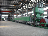 SLD series continuous powder metallurgy steel belt type high temperature reduction furnace