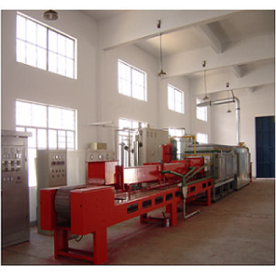 SLR series continuous powder metallurgy mesh-belt high temperature sintering furnace