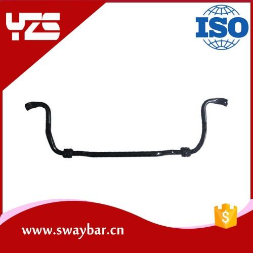 Black Heat Treated Solid Performance Sway Bar Antiroll Bar Stabilizer bar for Honda Fit Spring steel