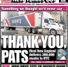 A Million N95 Masks delivered from China to Boston, USA by New England Patriots' Plane.