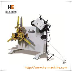 Precisione 2 in 1 rack raddrizzatore e decoiler macchina gl-200b