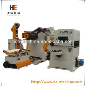 自動金属油圧プレスdecoilerマシン