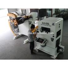 automatico macchina uncoiler raddrizzatore e alimentatore macchina servo