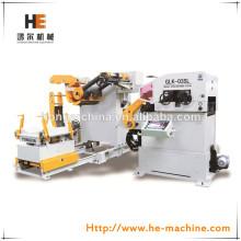 3 in 1 automatico del metallo bobina svolgitore glk-03sl made in china