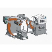 automatico del metallo bobina 3 in 1 fabbrica alimentatore glk3 serie
