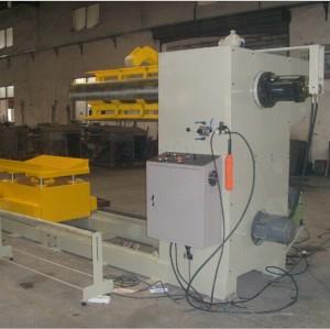 自動ブランキングラインのための大きなコイルdecoilerマシン重い、 モデル: mt-f