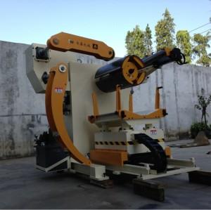 中国自動パンチングマシンとスチールdecoiler、 モデル: mt-f