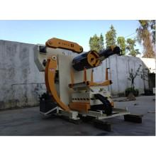 Cina punzonatura automatica linea per acciaio decoiler, modello: mt-f