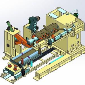 動機decoilerマシンのためのパンチングマシン