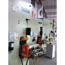 Automatico parti di metallo che timbra le linea con alimentatore pressa, modello: NCF