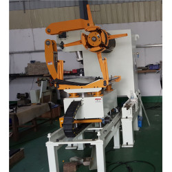 En 3 1 CNC Servo Alimentador De Rollo De Plancha Y Desenrollador De China