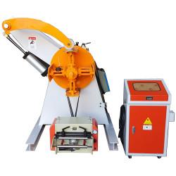 Máquina De Desbobinador De Aço Manual