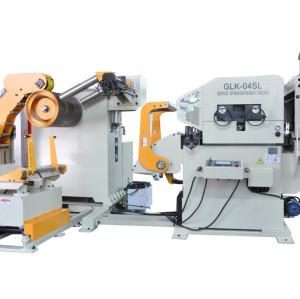 آلة تشكيل وتلقيم هيدروليكي بتحكم PLC