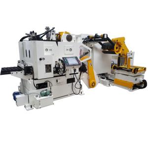 آلة تلقيم مؤازر سيرفو للفائف NC (3 آلات مدمجة في آلة واحدة)