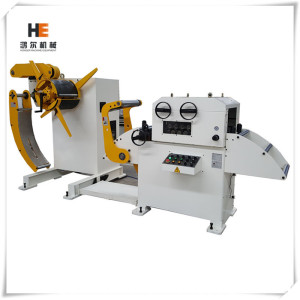2 In 1 Sheet Steel Straightener And Uncoiler